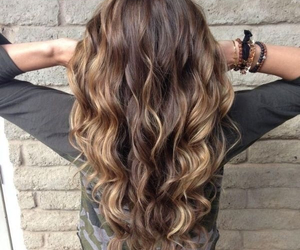 brunette, hair color, and curls image