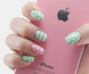 apple, polka dots, and stripes image