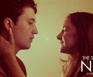 Shailene Woodley, miles teller, and the spectacular now image