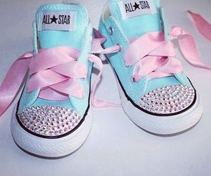 shoes, baby, and pink image