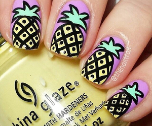 crazy, girl, and nails image