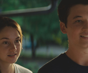the spectacular now, aimee, and Shailene Woodley image
