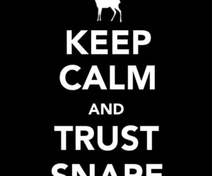 harry potter, snape, and keep calm image
