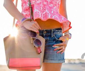 fashion, girl, and handbag image