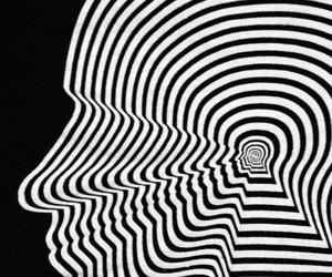 art, black, and psicodelic image