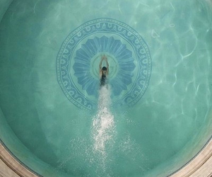pool, swim, and the great gatsby image
