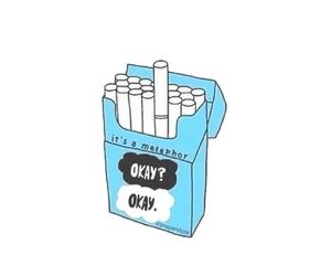 tfios, cigarette, and metaphor image