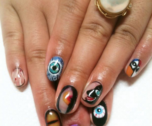 abstract, manicure, and art image