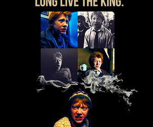 harry potter, ron, and the king image