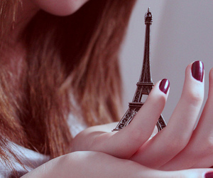 france, girl, and hand image