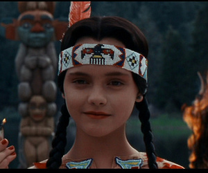 beautiful, burn, and addams family values image