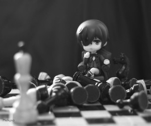 black butler, chess, and ciel image
