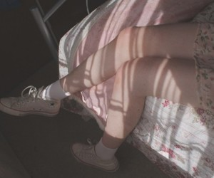 legs, thin, and vintage image