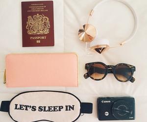 camera, zoella, and passport image