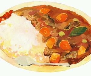 food and anime food image