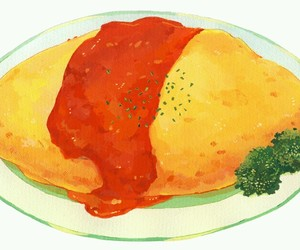 food and anime foods image