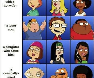 american dad, family guy, and cleveland show image