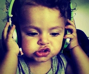baby, swag, and music image