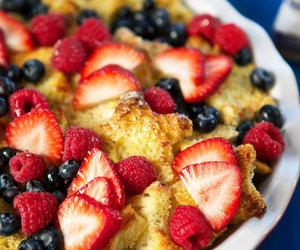 berries, breakfast, and vanilla image