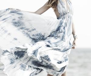dress, beach, and beautiful image