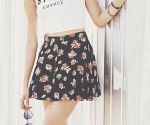 fashion, paris, and skirt image