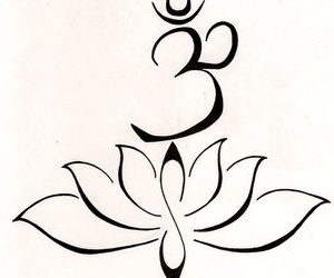 tattoo, lotus, and symbol image