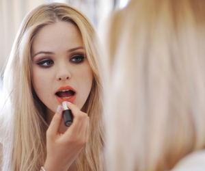 girl, hair, and lipstick image