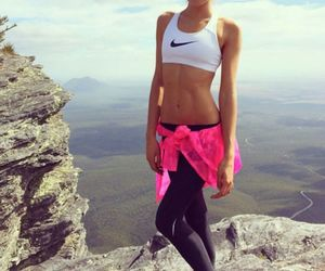 nike, fitness, and fit image