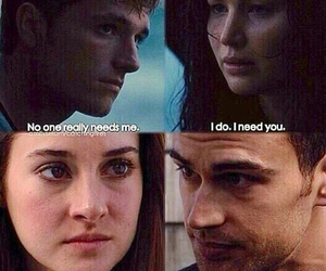 four, divergent, and need image