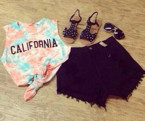 california, outfit, and clothes image
