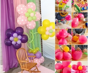 diy, balloons, and party image