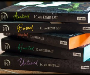 book, burned, and house of night image