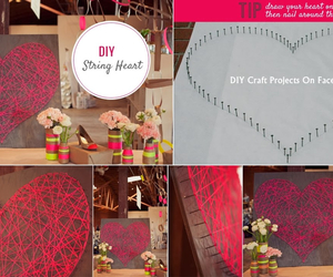 heart, diy, and decoration image
