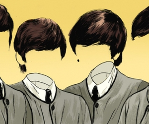 beatles, the beatles, and invisible image