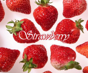 strawberry, red, and cute image