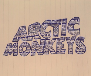 am, arctic monkeys, and drawing image