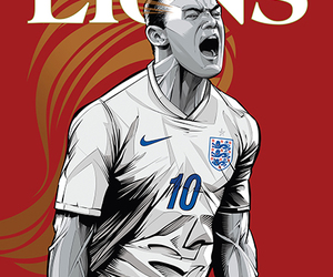 football, lions, and wayne rooney image