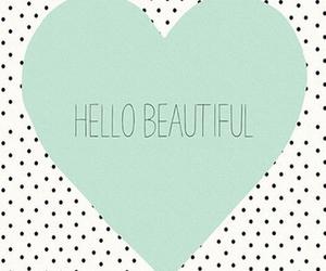 beautiful, hello, and love image