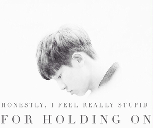exo, chanyeol edit, and quotes image