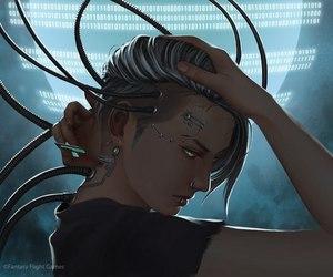 robot and cyberpunk image