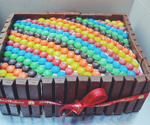 birthday, cake, and colorful image