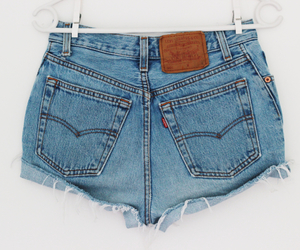 fashion, levis, and shorts image