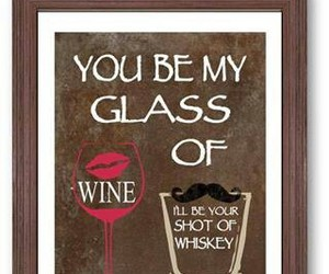 quotes, wine, and love image