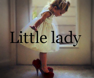 little lady♥ and small litle girl :p image