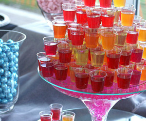 Shots and drink image
