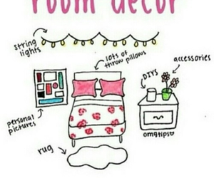 room, decor, and diy image