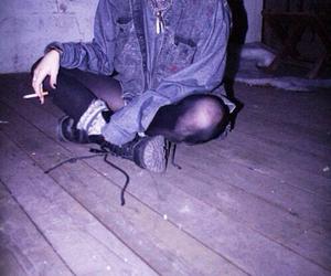 grunge, cigarette, and soft grunge image