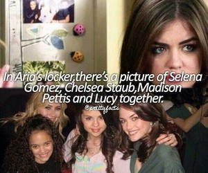 selena gomez, lucy hale, and pll image