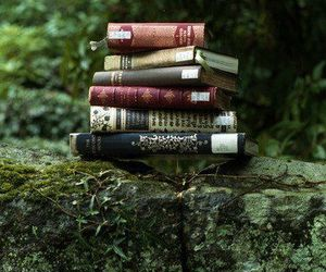 book and nature image