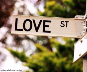 street and love st image